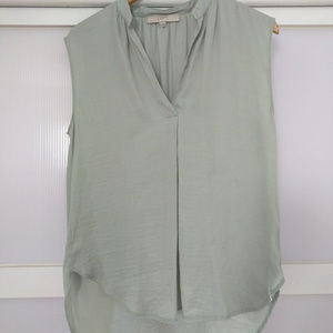 LOFT Ann Taylor Seafoam Sleeveless Blouse Career